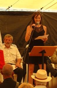 Laure Ginouse, Présidente du comité